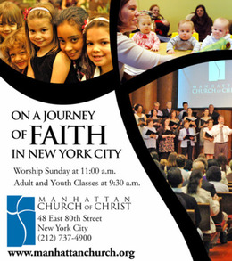 Manhattan Church of Christ in New York,NY 10075