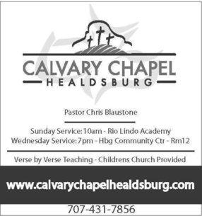Calvary Chapel Healdsburg in Healdsburg,CA 95448