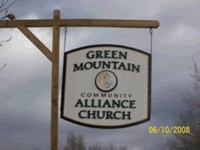 Green Mountain Community C&MA Church in Duxbury,VT 05676
