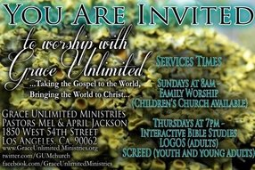 Grace Unlimited Ministries in Los Angeles,CA 90062