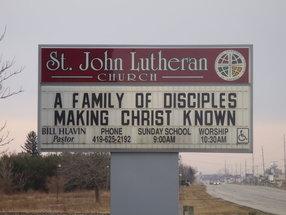 St John Evangelical Lutheran Church