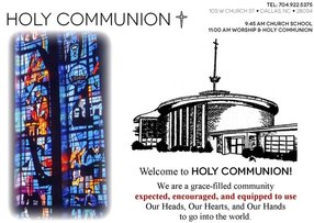 Holy Communion Lutheran Church in Dallas,NC 28034