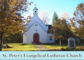 St Peter Evangelical Lutheran Church in Cornwall,CT 06753