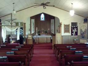 Mount Hulda Lutheran Church in Cole Camp,MO 65325