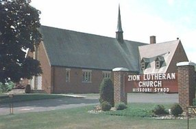 Zion Lutheran Church in Mondovi,WI 54755