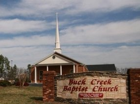 Buck Creek Baptist Church in Chesnee,SC 29323