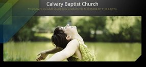 Calvary Baptist Church in Pensacola,FL 32526