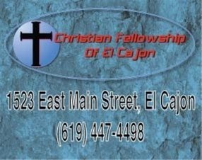 Christian Fellowship in El Cajon,CA 92021