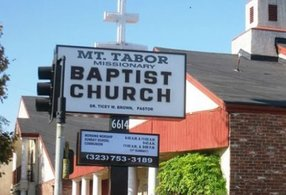 Mt Tabor Missionary Baptist Church in Los Angeles,CA 90047
