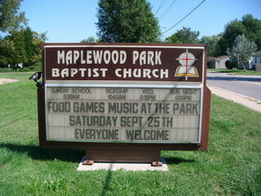 Maplewood Park Baptist Church in Cahokia,IL 62206