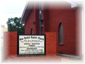 New Bethel Baptist Church in Oklahoma City,OK 73111