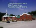 Oak Grove Baptist Church in Mt Carmel,TN 37645