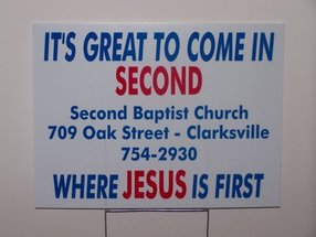 Clarksville Second Baptist Church in Clarksville,AR 72830