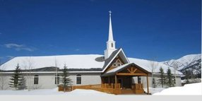 Morning Star Baptist Church in Alpine,WY