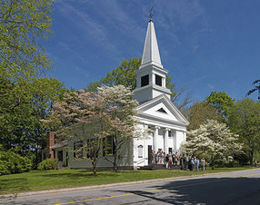 First Parish Lincoln in Lincoln,MA 1019