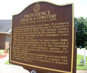 Historic Providence Christian Church