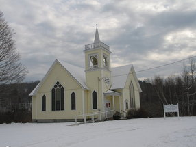 Bartlett Memorial United Methodist Church in North Jay, Maine,ME 04262