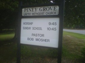 Piney Grove United Methodist Church in Louisburg,NC 27549