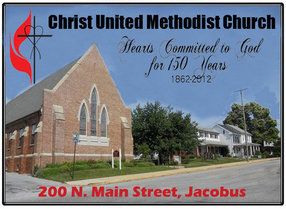 Christ United Methodist Church in Jacobus,PA 17407