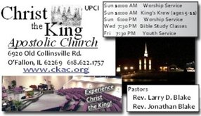 Christ The King Apostolic Church in O Fallon,IL 62269