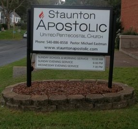 Apostolic United Pentecostal Church in Staunton,VA 24401