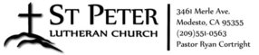 St Peter Lutheran Church in Modesto,CA 95355