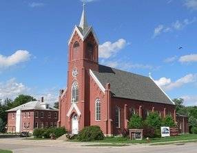 Sacred Heart Catholic Church in Crete,NE 68333