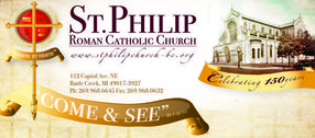 St. Philip Catholic Church in Battle Creek,MI 49017-3927