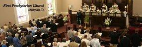 First Presbyterian Church in Shelbyville,TN 37160-3402