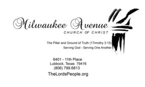 Milwaukee Avenue Church of Christ