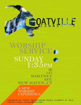 Goatville Worship Community in New Haven,CT 06510-1245