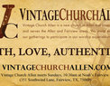 Vintage Church Allen in Fairview,TX 75069
