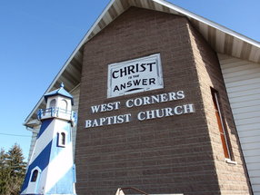 West Corners Baptist Church in Endicott,NY 13760-2023