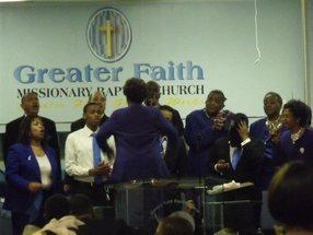 Greater Faith Missionary Baptist Church in Cleveland,OH 44110-3551