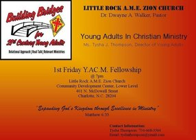 Young Adults at Little Rock A.M.E. Zion Church in Charlotte,NC 28204-2030