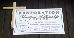 Restoration Christian Fellowship Church in Warren,OH 44483-1916