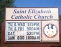 St. Elizabeth Catholic Church in Grove,OK 74344-4504