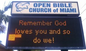 Open Bible Community Church of North Miami in Miami,FL 33167-2664