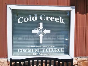 Cold Creek Community Church