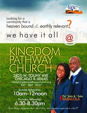Kingdom Pathway Church in Chicago,IL 60645