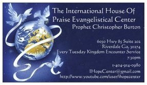 The International House of Praise Evangelistical Center