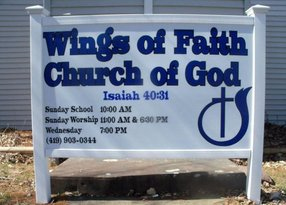 Wings of Faith Church of God in Ashland,OH 44805-1632