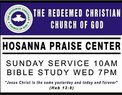 The Redeemed Christian Church of God, Hosanna Praise Center