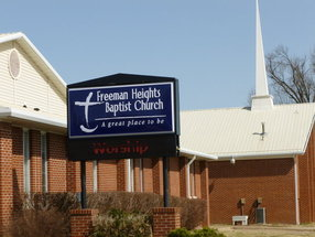 Freeman Heights Baptist Church in Berryville,AR 72616