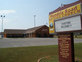 Hendrix Road Baptist Church in Florence,AL 35633-6860