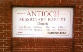 Antioch Missionary Baptist Church in Van Buren,AR 72956