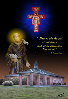 Saint Francis of Assisi in Mocksville,NC 27028-2052