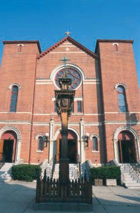 St. Joseph Church in Waterbury,CT 06708-3894