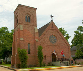 Trinity Episcopal Church in Natchitoches,LA 71457