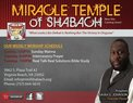 Miracle Temple of Shabach in Newport News,VA 23602